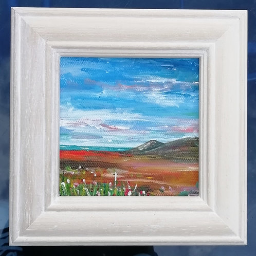 Mini Acrylic Painting - Country Views & Blue Skies