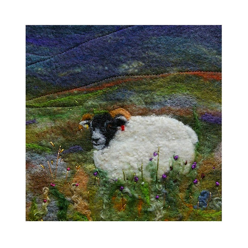 Roaming in the Glen - Mounted Giclee Print
