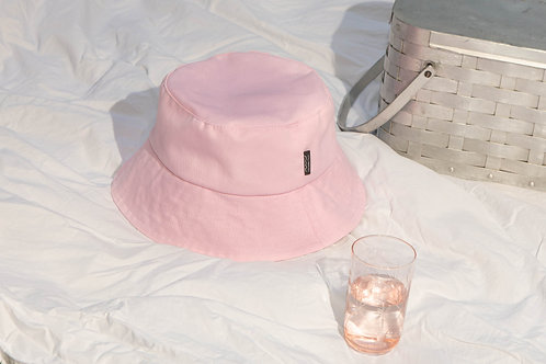 Chapeau cloche rose