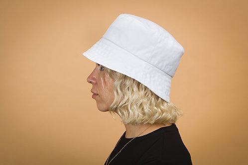 Chapeau bob blanc