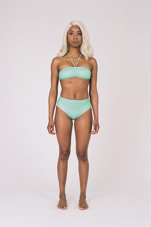 Medellin Bikini Bottom in Seafoam