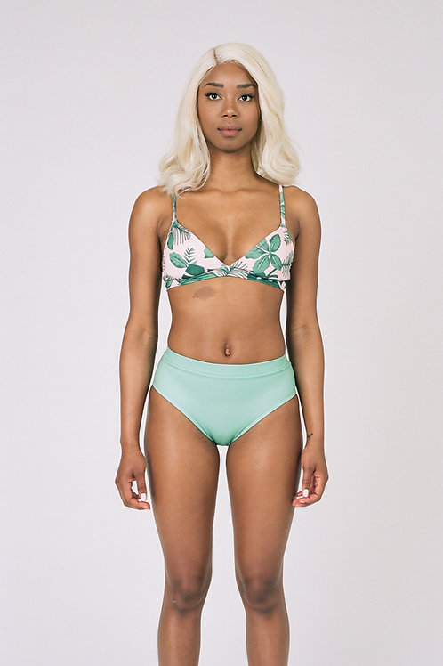 Haut de Bikini Leticia Monstera