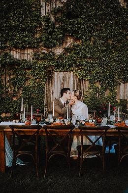 simple celebrations vintage wedding design