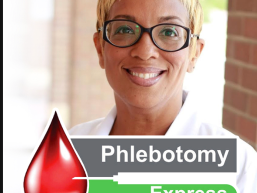 KIMBERLY HARRINGTON CONTINUES TO EMPOWER OTHERS THROUGH PHLEBOTOMY EXPRESS TRAINING