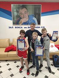 Ученики Знаменской школы заняли призовые места в турнире по боксу