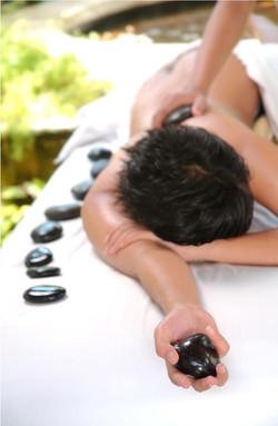Stone-Massage
