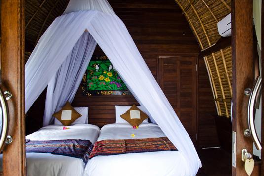 Lotus Garden Huts - I Love Bali (3)