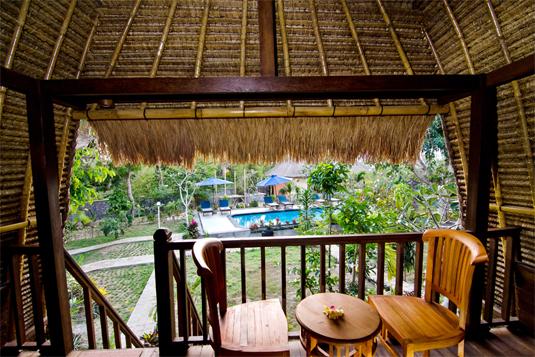 Lotus Garden Huts - I Love Bali (2)