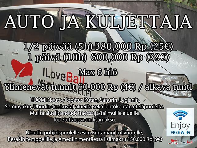 Auto ja kuski Balilla