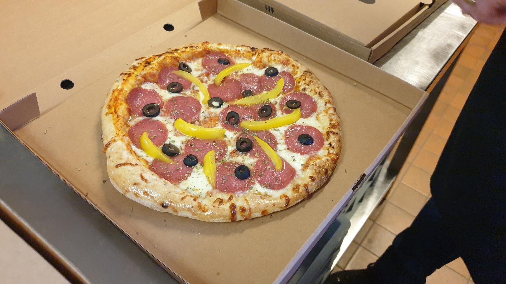 Buulke Budel Pizza Salami
