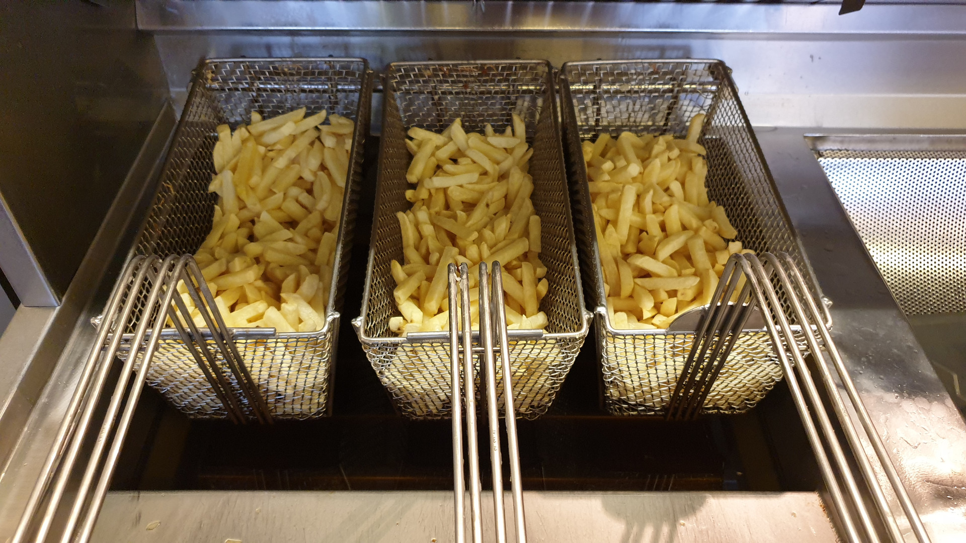 Buulke Budel voorbakken friet