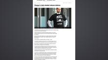 "Nick Valentine in 'The Wyndham Weekly' discussing the ""Men's Behaviour Change Progr"
