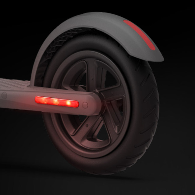 New Tail Light. Provides Enhance Visibility