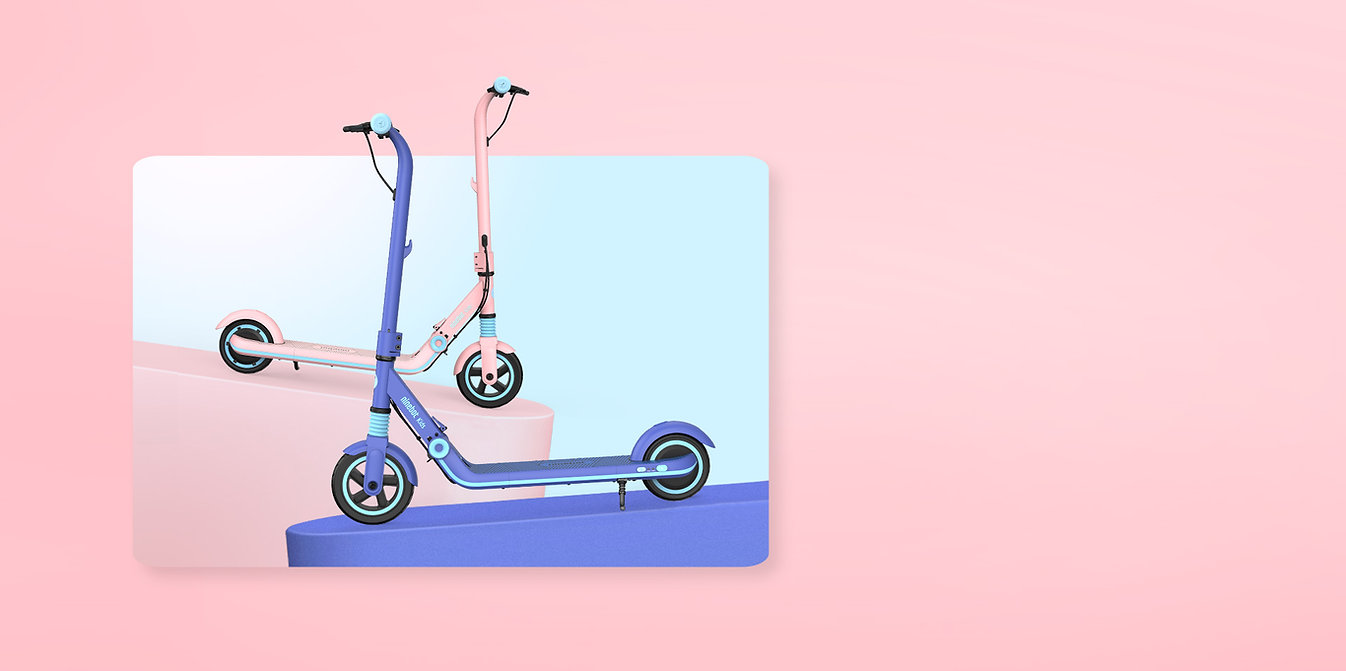 KickScooter E8 - Electric KickScooter For Kids Colors