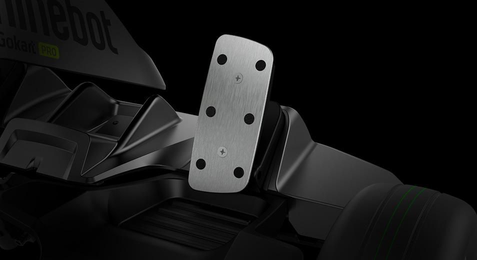 Racecar Inspired Metal Pedals