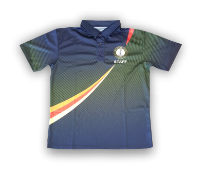 Private Label - Staff Polo Inset Sleeve - Mini Pique Fabric-150gm