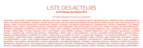 Etude de marché, market research, Lyon - Paris – France, Insights, émotion