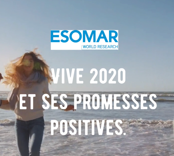 VOEUX & ACTIONS 2020 Esomar France :