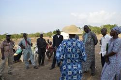 Visite d'inspiration de 18 maliens
