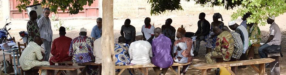 Formation des membres de coopératives agricole (CUMA) au Bénin Sénégal pour le développement de l'entrepreneuriat collectif