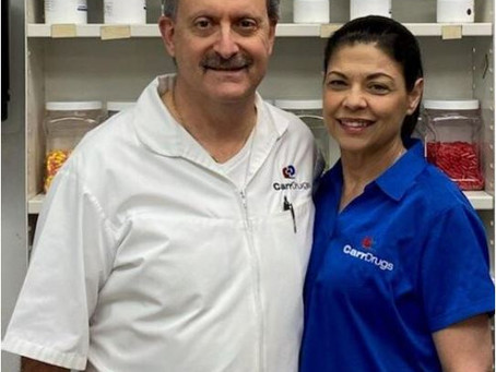 At this Louisiana drugstore, there are endless calls, waitlists as staff hands out vaccines