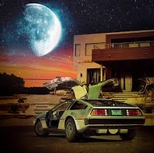 B. Slade // 'DeLorean'