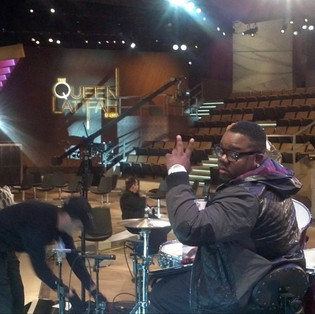 Slikk on Drums / Queen Latifah Show