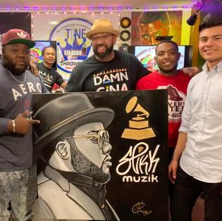 Slikk Grammy Painting
