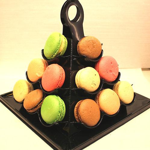 Pyramide Assortiment Macarons
