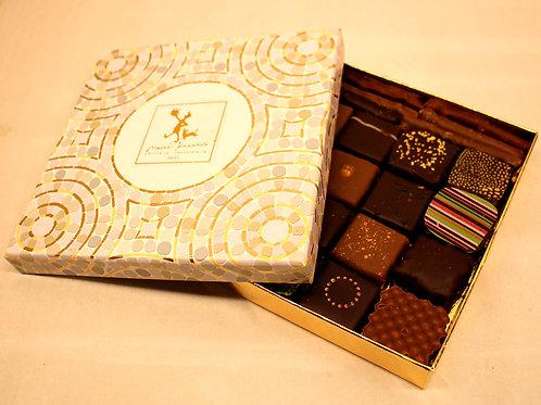 Bonbon chocolat en boîte Mosaïque