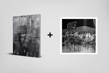 Book+Frenetic City 40 (20cm x 20cm)
