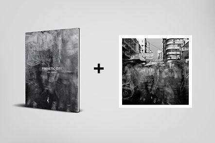 Book+Frenetic City 07 (20cm x 20cm)