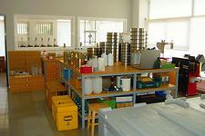 Εξοπλισμός εργαστηρίου NAMALAB