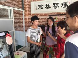 Praying for bakery owner