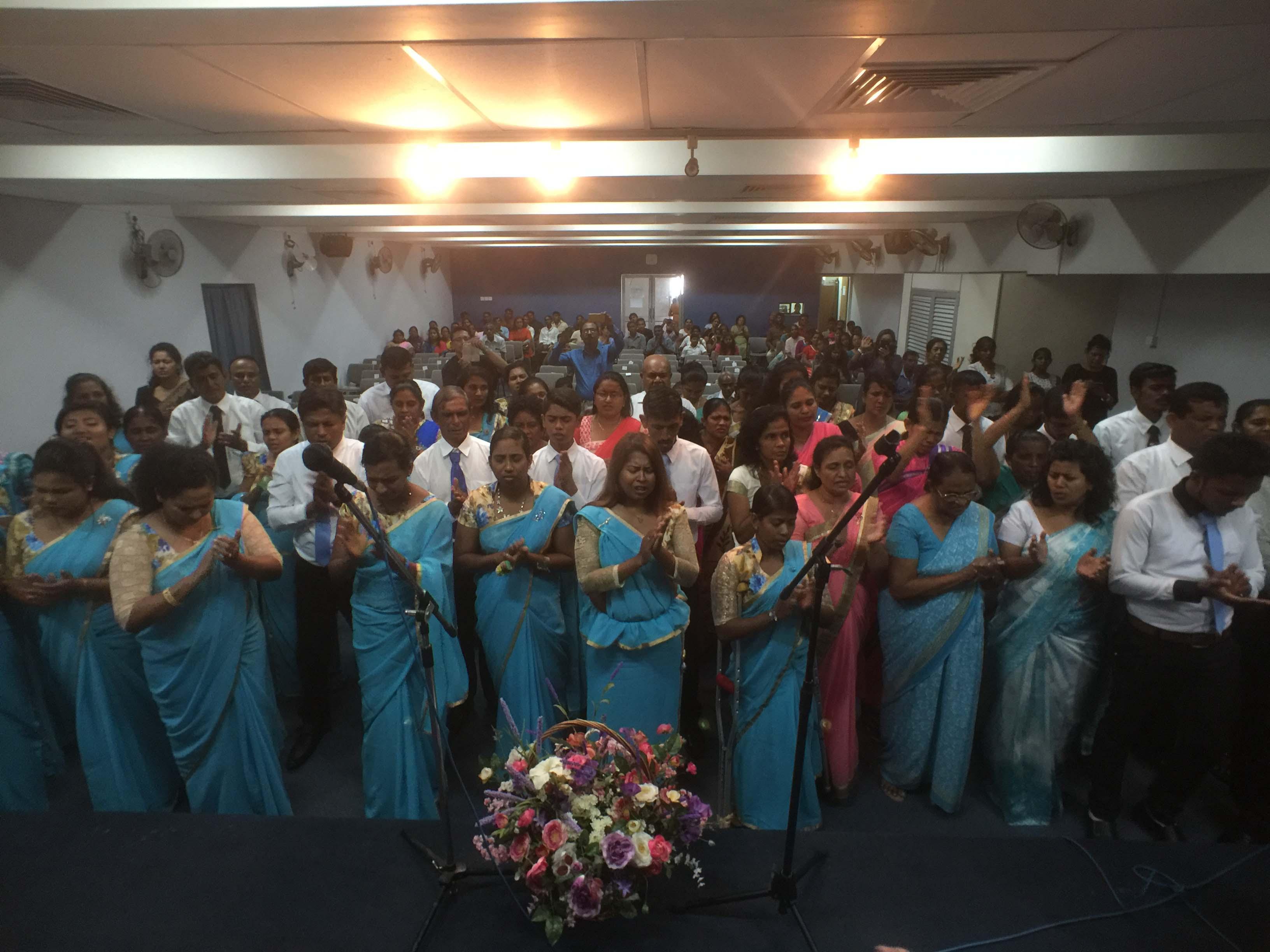 Worship after graduation