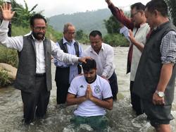 Baptism in Eastern Nepal