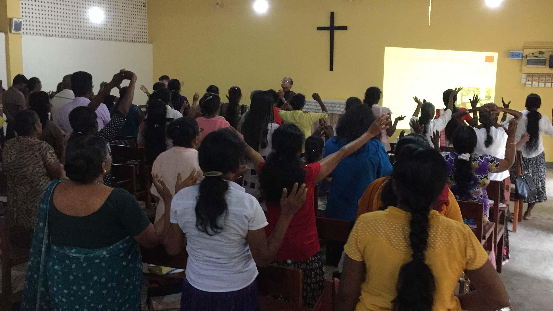 Worship after sharing