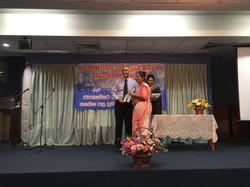 James with graduating Timothy