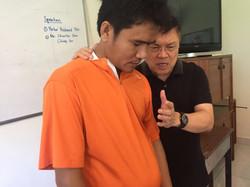 Praying for the Vice Principal