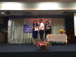 Su Tay with graduating Timothy