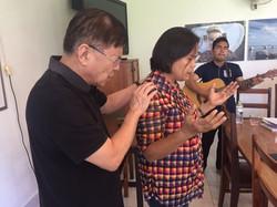 Prayer of blessing over the Principa