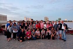 Cruise along Tonle Sap River
