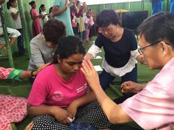 Praying for healing for an orphan