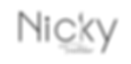 Nicky Traiteur Light Black - Transparent