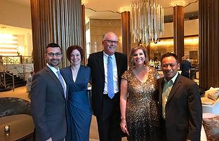 Awards Dinner - Todd, Kelly, Roger, Apri