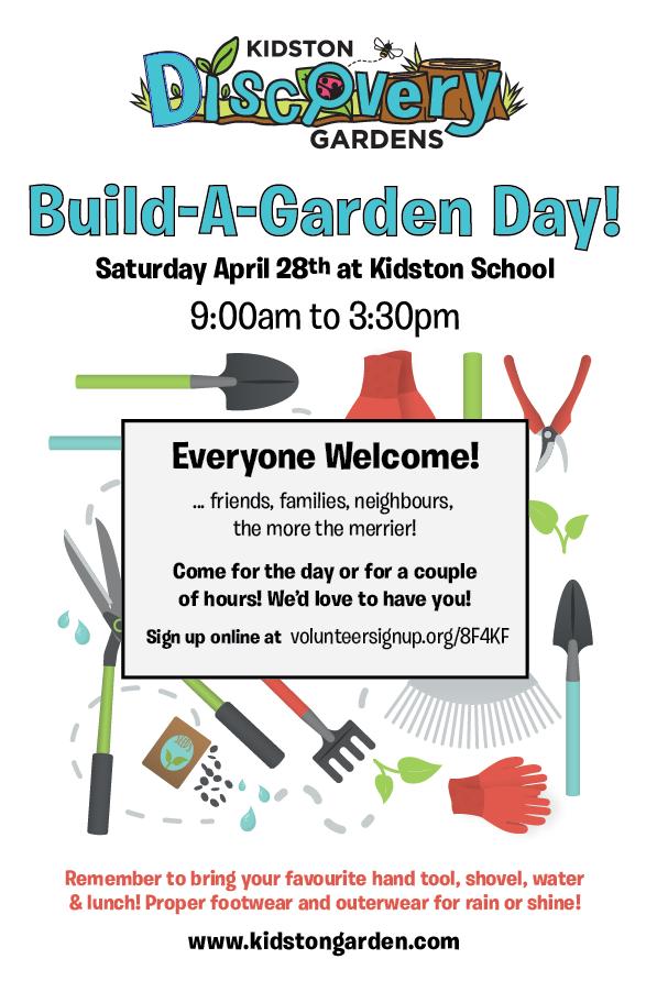 Build A Garden Day!