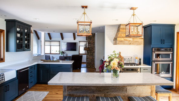 After Kitchen by PVO Construction