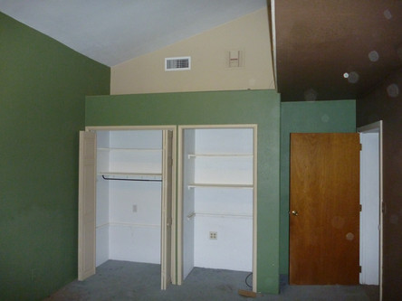 Before Bedroom Remodel