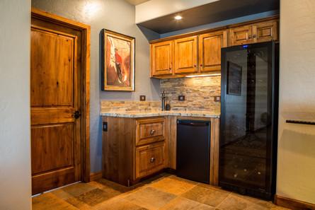 Kitchenette, Wine Room