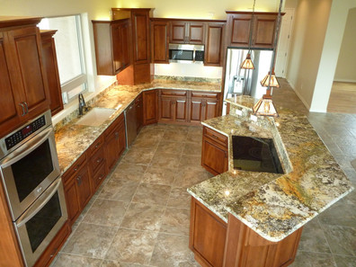 Kitchen by PVO Construction